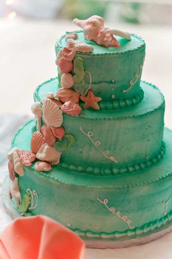 Idee per torte di matrimonio colorate