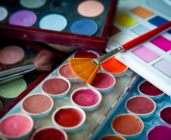 make up e palette trucco