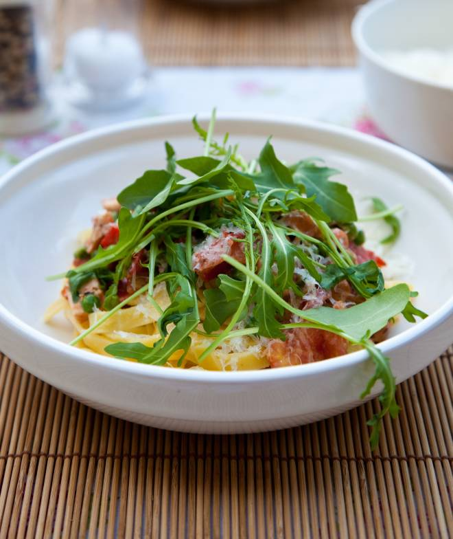 pasta-rucola-light