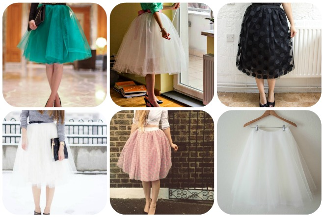 Favoloso Gonna in tulle fai da te | Trashic BF78