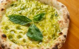Pizza vegan al pesto