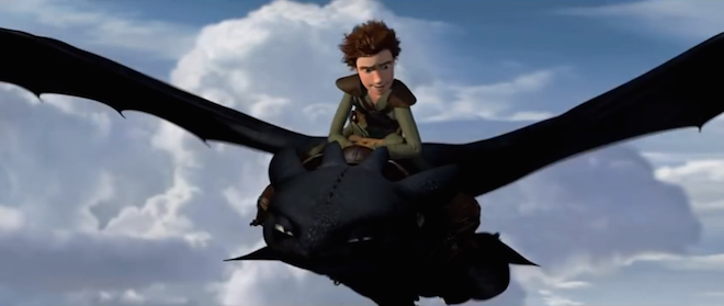 Dragon-Trainer-I-Hiccup-vola-su-Sdentato