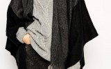 Mantella e poncho: wish list in Autunno per donne curvy
