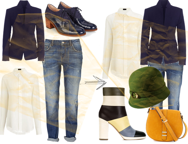 outfit autunnale rinnovato